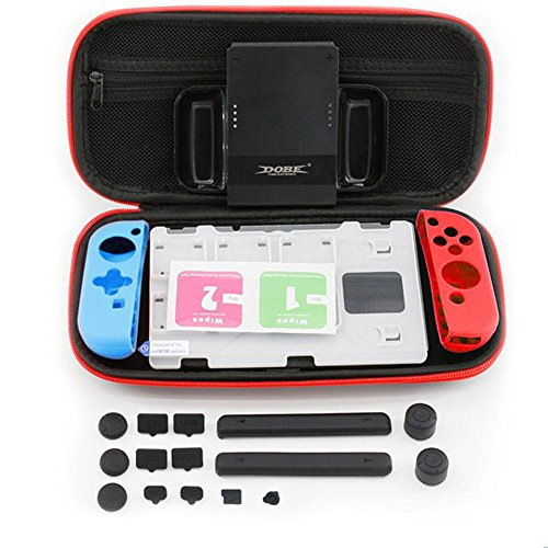 Eachbid Water-resistent Portable Hard Shell Case EVA Storage Bag for Nintend Switch