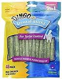 Dingo Dental Sticks for Tartar Control, 48-Count (Pack of 2)