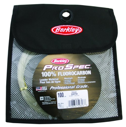 Berkley ProSpec 100 Fluorocarbon Leader Material Fishing Line