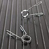 ONNPNN 2 Pieces 2 Inch Dumbbell Spring