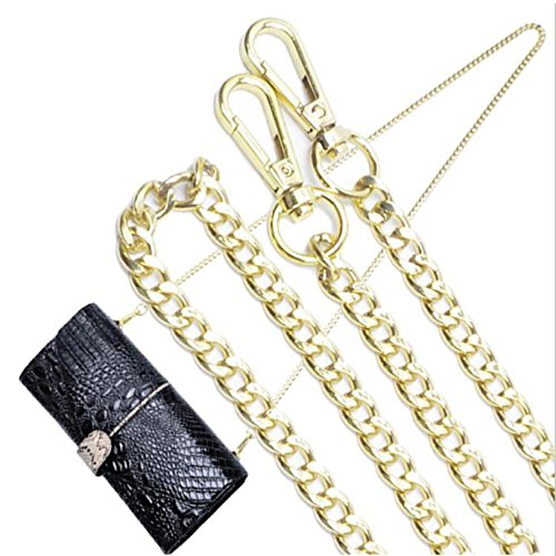 Leather Wristlets Clutch Chain Pattern Crocodile Wallet Black Shoulder Party Dinner Messenger Women's Bag qB6pwAR6