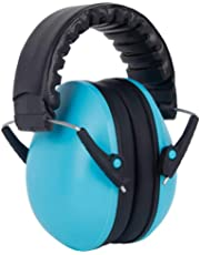 Baby Noise Cancelling Headphones - Foonee Sound Proof Ear Muffs for Children and Adults - Foldable Design Ear Defenders Protector with Adjustable Padded Headband
