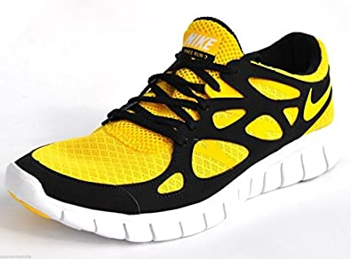 Nike Free Run +2 443815 770 Gelb Schwarz 40 41 42,5 44 45