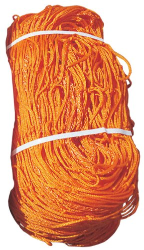 Goal Sporting Goods Soccer Net, 7x12x4x4-Feet/2.5mm, Orange/Orange by Goal Sporting Goods