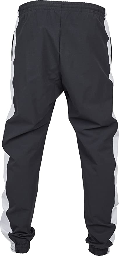 Urban Classics Retro Track Pants Pantaloni Sportivi, Schwarz