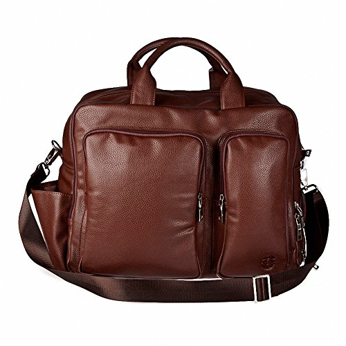 Hero Hayes Series 325brn Better Than Leather Travel Bag by Hero