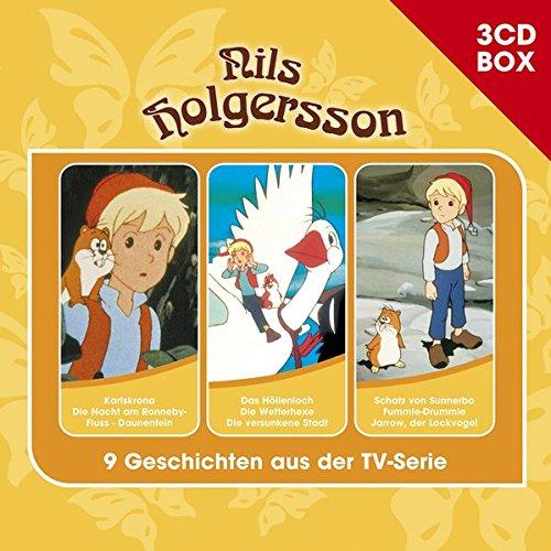 Nils Holgersson / Nils Holgersson - 3CD Hörspielbox Vol. 2 (Studio 100)