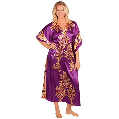 Dream Products Lovely Caftan Lounger, Purple Reign