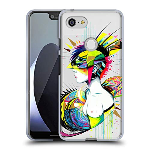 Official Pixie Cold Alien Goddess Soft Gel Case for Google Pixel 3 XL