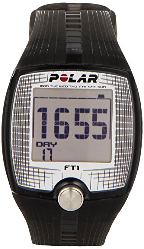 Digital Heart Rate Monitor Watch (Polar Ft1 Heart Rate Monitor, Black)