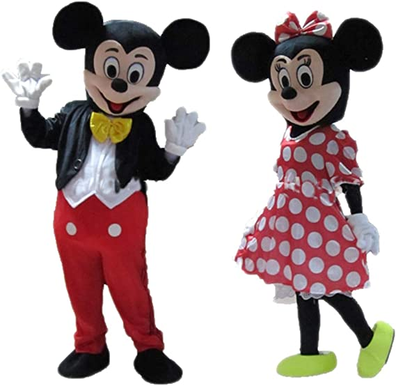 New Men//Women Disney Minnie Mickey Mouse Costume Party Cosplay Gloves 1 Pc//Pair