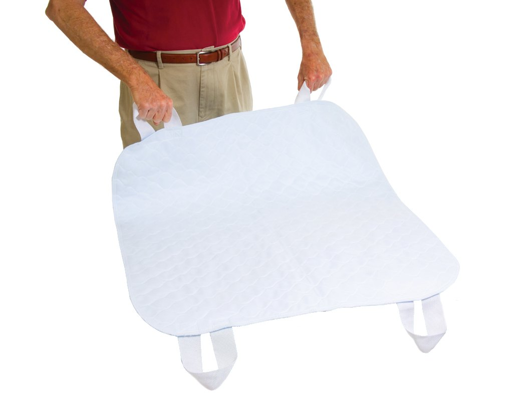 Essential Medical Supply Quik Sorb 34 Inchx 35 Inch Underpad with Straps