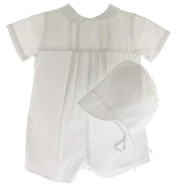 Amazon.com: Petit Ami - Traje de bautizo para recién nacido ...