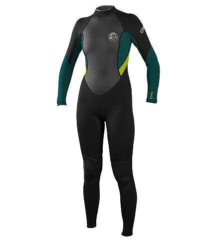 8add06305b Amazon.com   O Neill Wetsuits Womens 3 2 mm Bahia Full Wetsuit ...