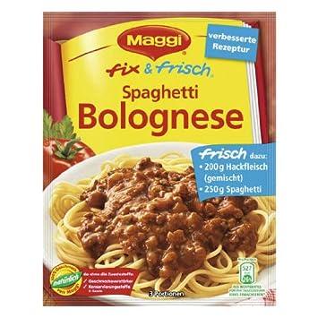 Amazon.com : MAGGI fix & fresh spaghetti bolognese (Spaghetti ... | {Maggi fix 23}