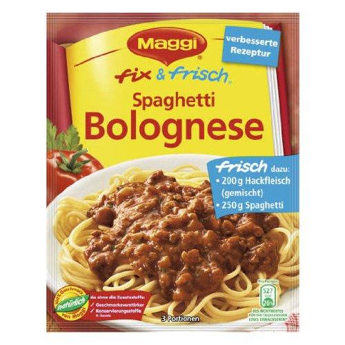 MAGGI fix & fresh spaghetti bolognese (Spaghetti Bolognese) (Pack of -