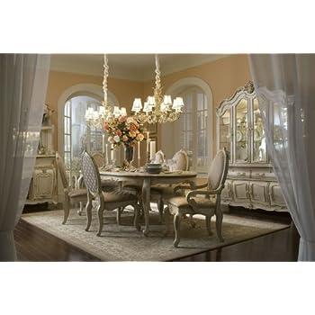 Amazon.Com - Lavelle Blanc Oval Dining Room Set (9 Pc) - Aico