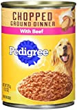 PEDIGREE Chopped Ground Dinner Multipack Filet Mig...