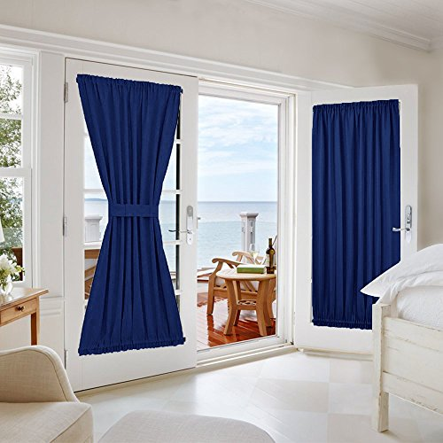 Compare Price To French Door Curtains Velcro Tragerlaw Biz
