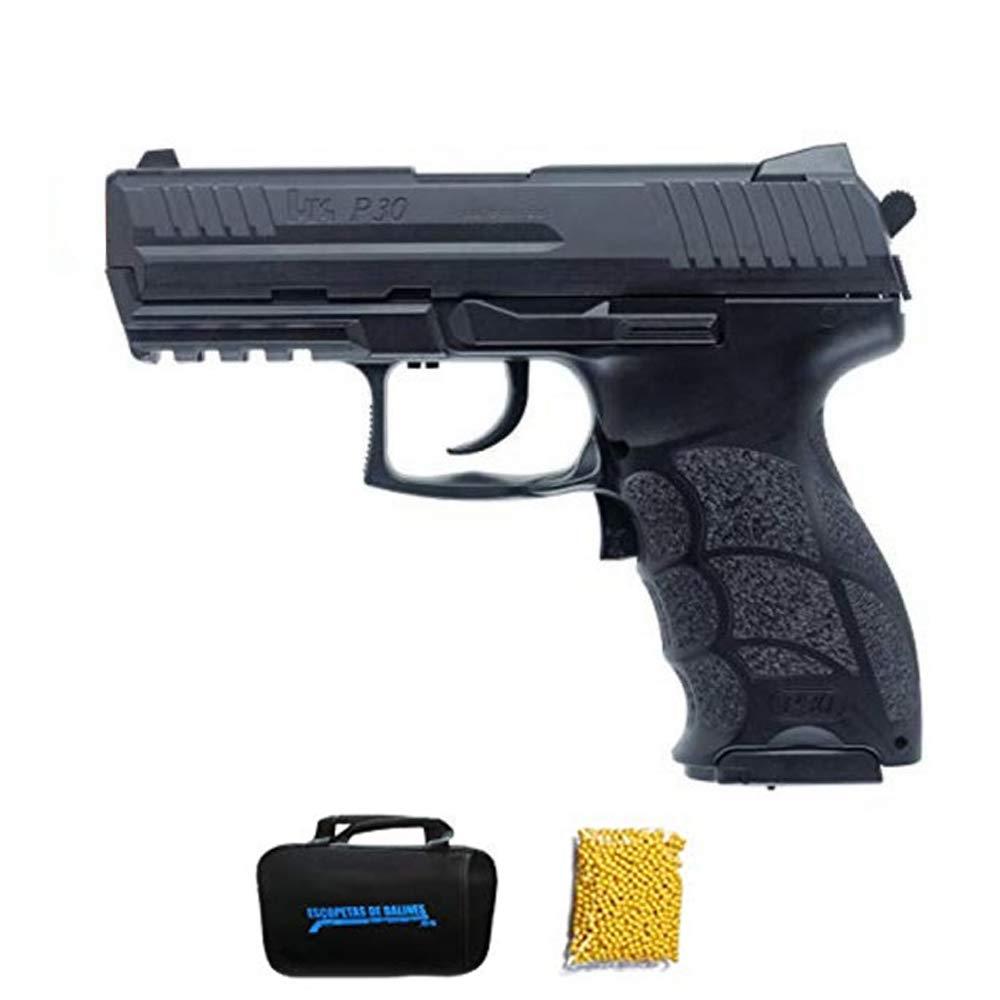 HK P30 M24 Umarex Pistola de Airsoft Calibre 6mm Sistema: El/éctrico  0.5 Julios. Arma Aire Suave de Bolas de pl/ástico o PVC