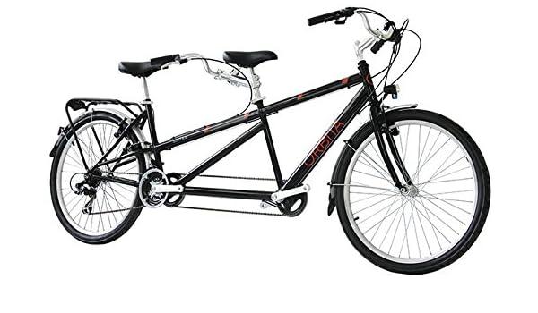 26 pulgadas Tandem bicicleta 21 velocidades Orbita Sintra, negro ...