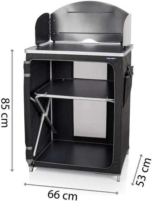 CAMPART KI-0710 - Cocina de Camping Almeria con Paravientos ...
