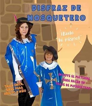 Disfraz Bolsa Plástico NIEFENVER Mosquetero: Amazon.es ...