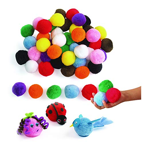 Colorations LGPOMS Jumbo 2 Pom-Poms (Pack of 50)