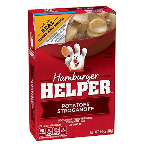 (Betty Crocker Hamburger Helper, Potatoes Stroganoff Hamburger Helper, 5 Oz Box)