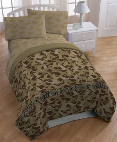 Gentil Amazon.com: Au0026E Networks Duck Dynasty Comforter Set, Queen, Tan Camo: Home  U0026 Kitchen
