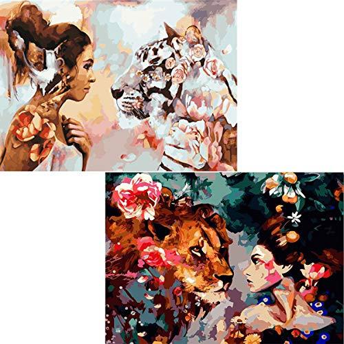 Womens Abstract Animal - 5