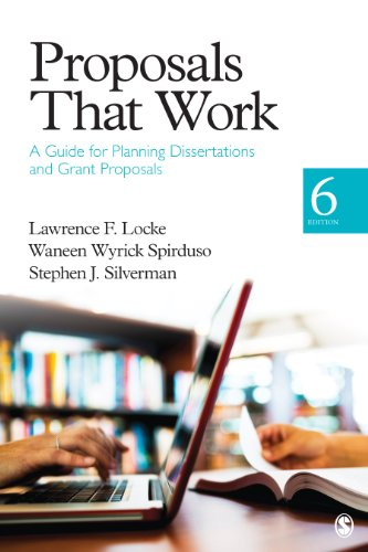 Proposals That Work: A Guide for Planning Dissertations and Grant Proposals Pdf