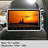 Sedeta 10.1 Inch HD Digital Multimedia Monitor Car Headrest Dvd Player HDMI Port and Remote Control USB