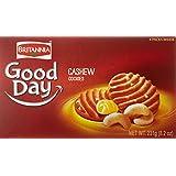 Britannia Good Day Cashew Cookies 231g/Britannia Biscuits au cajou Good Day 231g