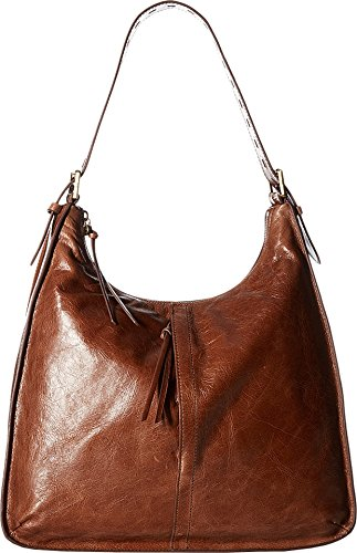 [Hobo Women's Leather Marley Shoulder Bag (Cafe)] (Hobo Purse)