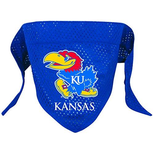 Hunter Mfg. LLP NCAA Kansas Jayhawks Pet Bandana, Team Color, Small