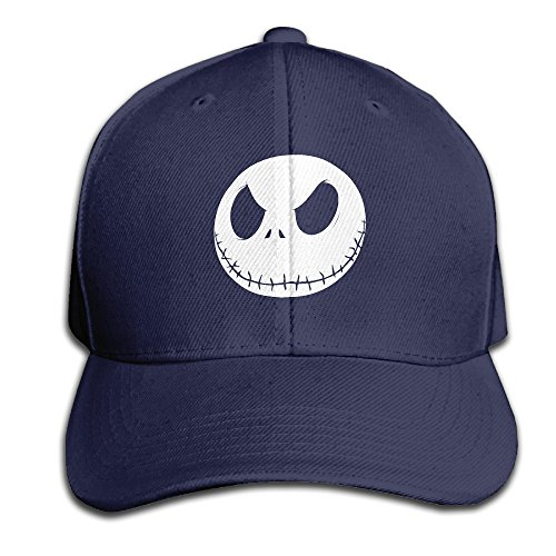 Karoda JACK's Nightmare Adjustable Baseball Cap/Hat Hip Hop Hat Navy