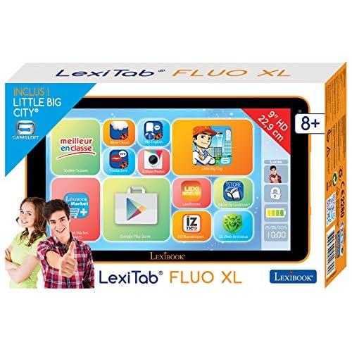 Lexibook - Mfc191fr2 - Tablette Tactile - Fluo Xl