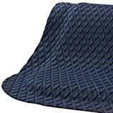 Andersen 442 Hog Heaven Fashion Nitrile rubber Anti-Fatigue Floor Mat, Nitrile/PVC Rubber Cushion Backing, 5' Length x 3' Width, 7/8'' Thick, Cobalt Blue