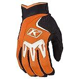 Klim Mojave Men's Off-Road Motorcycle Gloves - Orange/Large