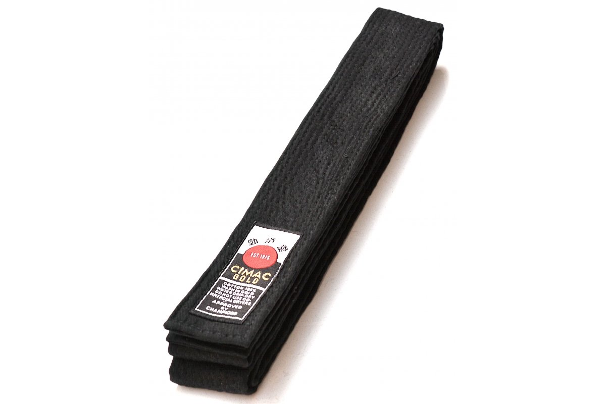 Cimac Superior Black Belt Cotton 300CM