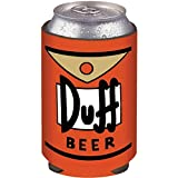 ICUP The Simpsons - Duff Beer Can Label Cold Beverage Can Cooler