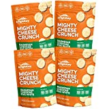 Parmesan Cheddar Egg White Cheese Crisps – Low Carb, Gluten Free, High Protein Healthy Cheese and Egg Snack – Savory, Keto & Diet Friendly Cheese Crunch with Natural Ingredients Pack of 4, 2.25oz Bags Review