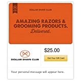 Spend $50, Get $10 Off on Dollar Shave Club Email Gift Cards (DOLLAR)