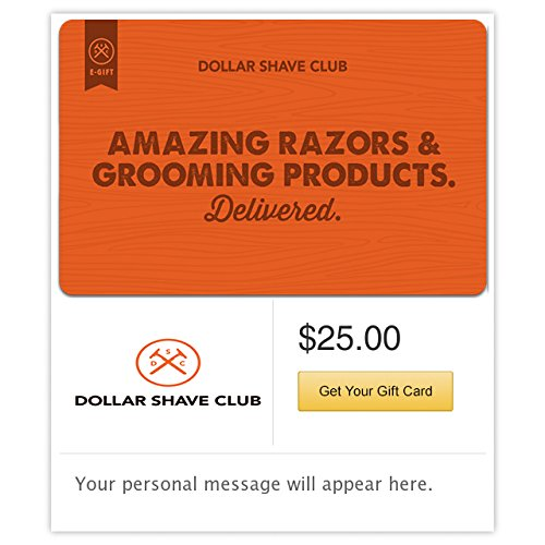 Dollar Shave Club Gift Cards   E Mail Delivery
