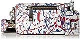 Marc Jacobs Splatter Paint Crossbody Cross Body White Multi