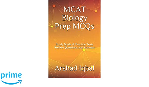 MCAT Biology Prep MCQs: Study Guide & Practice Tests Review ...