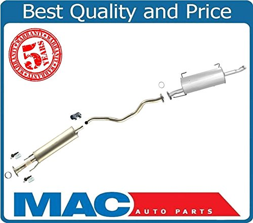 - Mac Auto Parts 131821 Middle and Rear Exhaust Pipe Muffler New For Nissan Versa Hatchback 2007-2011
