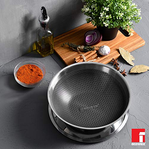 BERGNER-Hitech-Prism-Non-Stick-Stainless-Steel-Tasra-with-Stainless-Steel-Lid-20-cm-15-litres-Induction-Base-Silver