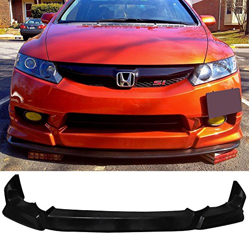09-11 Honda Civic 4 Door Type-J Add-On Front Bumper Lip Urethane ()